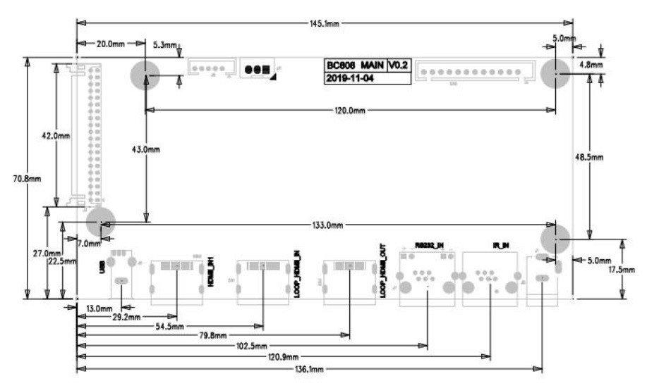 EAGO BC808 Daisy Chain Board-2